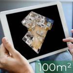 Wirtualny spacer 3D matterport do 100m2