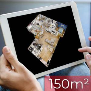 Wirtualny spacer 3D matterport do 150m2
