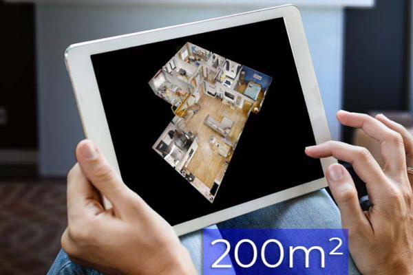 Wirtualny spacer 3D Matterport do 200m2